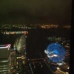 View of the harbout from the room on the 53nd floor