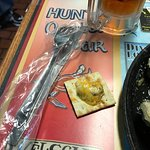 Tiny Three Cheese Cajun Oyster