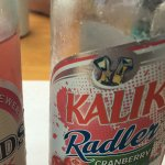 They had my favorite pink Radler