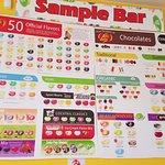 sample bar choices