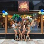 Our VIP opening night guests #Brazilian Samba Dancers