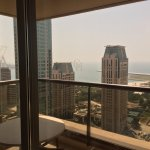 View from Room of the Dubai Marina