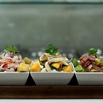 Tasting Ceviche - Croaker, Mushroom and Tuna