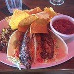 Fish taco at Brett's