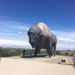 World's Largest Buffalo Statue