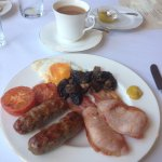 Great breakfast but see next photo