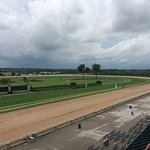 Keeneland from the Queen's box