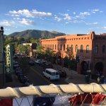 The beautiful view from the Zane Grey balcony!