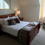 Our large double en-suite boasts views of Loch Gairloch.