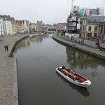 La ciudad de Gante repleta de canales