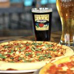 Pizza. Beer. Good. (r)