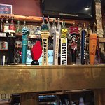 Great beer selection. Popular, lively spot. And hopefully good fish tacos (they haven't arrived