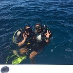 Final dive of the Open Water Diver Course with Kelly!