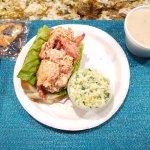 Clam chowder, lobster roll...