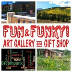Fun and Funky Art Gallery