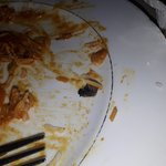 Dead fly found after eating take away