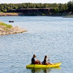 Kayaking and canoeing are available!