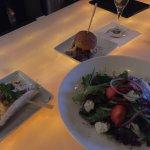 Ultimate Fish Taco, Prime Rib Slider, and California Spring Salad