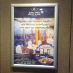 Advertisement for 16th Floor dining area