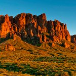 Scenic views at Lost Dutchman State Park
