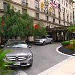 St Regis Washington DC - Lobby entrance on 16th St NW