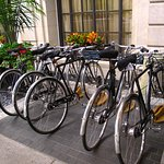 St Regis Washington DC - Bicycles for guests at entrance