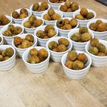 fried olives before appetizer