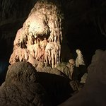 Incredible stalagmites and stalagtites!