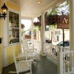 Porch at the Almondy Inn