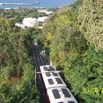 Capri: Take the Tram from the docks level up to the town level