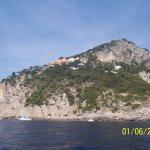 Capri: The houses around the island
