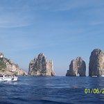 Capri: A famous rock formation at Capri Island