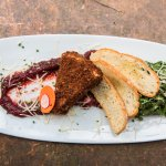 Pecan-Crusted Fried Brie