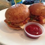 Chicken sliders
