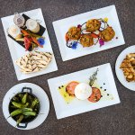 an array of our small plates