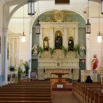 Inside view of San Felipe de Neri Church