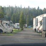 BridgeBay Campground with RV's