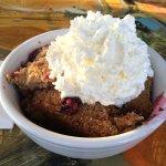 Yummy Marionberry Crisp!