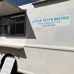 Delicious food being served from Little Yeti's Bistro Food-truck at the Tombstone Brewing Compan