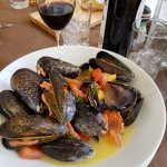 Went back for dinner again. Lamb shanks, mussels. Delicious.