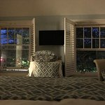 Evening in the Lakeview Balcony Suite