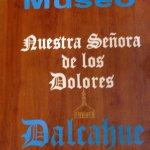 letrero del museo de la iglesia