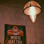 White Electric Coffee