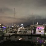 Walking the waterfront harbor is a beautiful sight during the day and night. Plenty of restauran