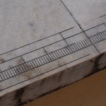 Measurement scales on marble stone