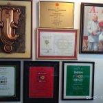 Various awards won and dignitaries visiting this place