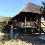 This was our twin share chalet.