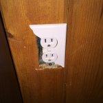 Broken electrics all over cabin