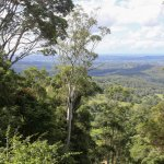 View to the coast from Poet's Cafe Montville