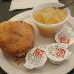 Applesauce and Corn Muffin